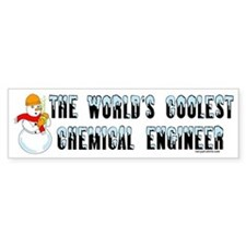 Cool Chemical Engineer Bumper Bumper Sticker