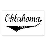 Oklahoma Rectangle Sticker