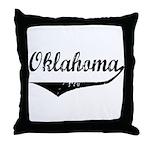Oklahoma Throw Pillow
