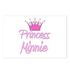 Princess Minnie Postcards (Package of 8)