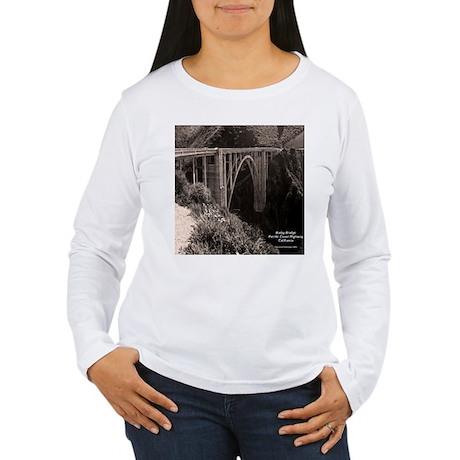 Bixby Bridge Women's Long Sleeve T-Shirt