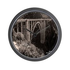 Bixby Bridge Wall Clock