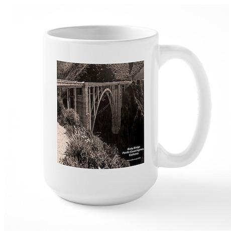Bixby Bridge Large Mug