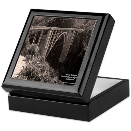 Bixby Bridge Keepsake Box