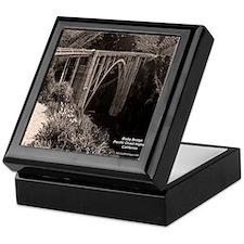 Bixby Bridge Keepsake Box