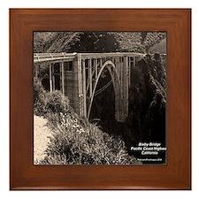 Bixby Bridge Framed Tile