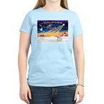 XmasSunrise/Fr Bulldog 1 Women's Light T-Shirt