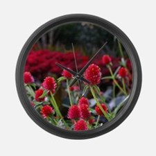 Gomphrena Large Wall Clock