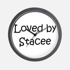 Unique Stacee Wall Clock