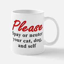 Spay or Neuter Mug