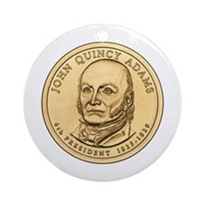 John Quincy Adams Ornament (Round)