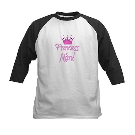 Princess Mimi Kids Baseball Jersey