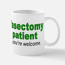 Vasectomy patient Mug
