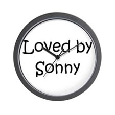 Cute Sonny Wall Clock