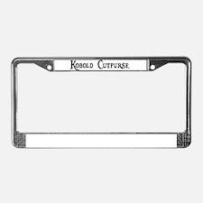 Kobold Cutpurse License Plate Frame