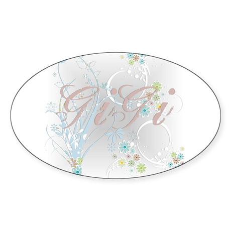 GiGi 2 Oval Sticker
