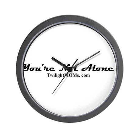 You're Not Alone Wall Clock