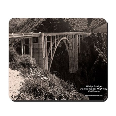 Bixby Bridge Mousepad