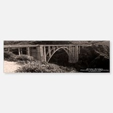 Bixby Bridge Bumper Bumper Bumper Sticker