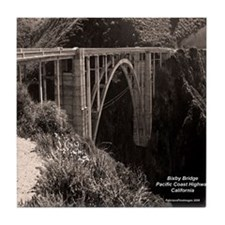 Bixby Bridge Tile Coaster
