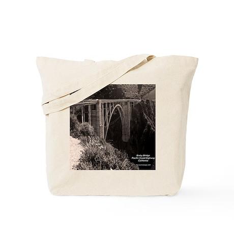 Bixby Bridge Tote Bag