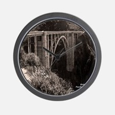 Bixby Bridge Wall Clock
