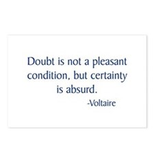 Voltaire Postcards (Package of 8)