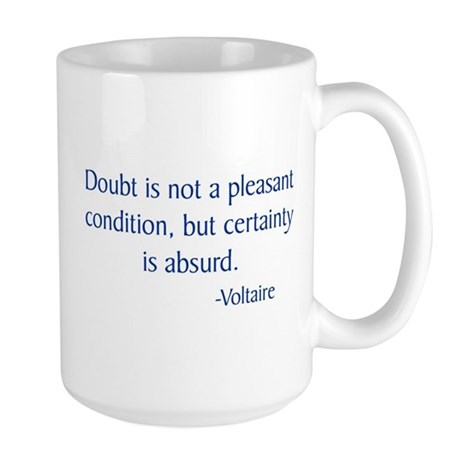 Voltaire Large Mug