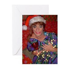 Ruth Ann's Tan & Bombed Christmas Cards (Pk of