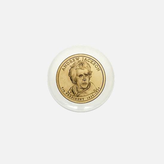 Andrew Jackson Mini Button