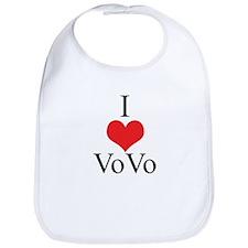 I Love (Heart) Vovo Bib