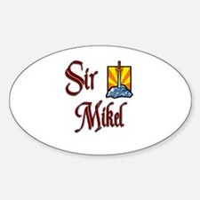 Sir Mikel Oval Decal