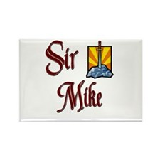 Sir Mike Rectangle Magnet