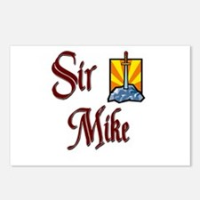 Sir Mike Postcards (Package of 8)