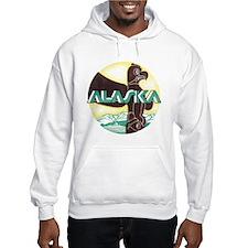 Alaska Totem Pole (Front) Hoodie