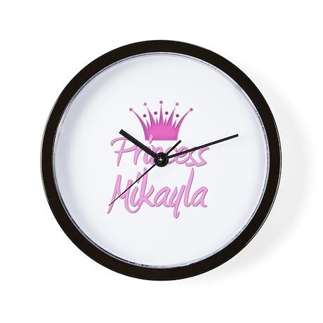 Princess Mikayla Wall Clock