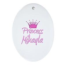 Princess Mikayla Oval Ornament