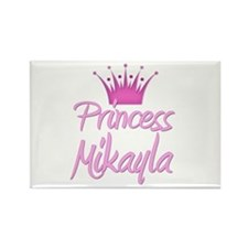Princess Mikayla Rectangle Magnet