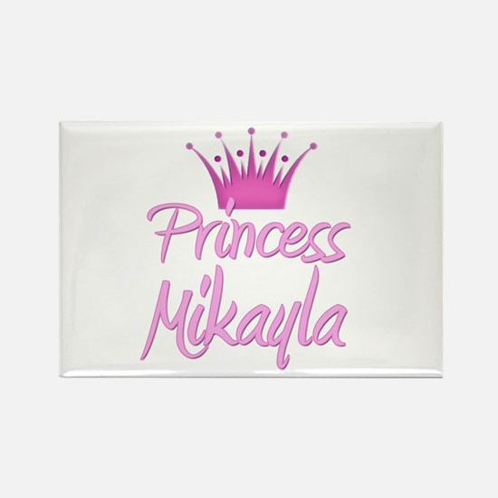 Princess Mikayla Rectangle Magnet