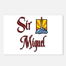 Sir Miguel Postcards (Package of 8)