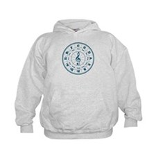 New Blue Circle of Fifths Hoodie