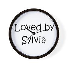 Cute Sylvia Wall Clock