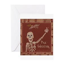 Pax vobiscum Greeting Card