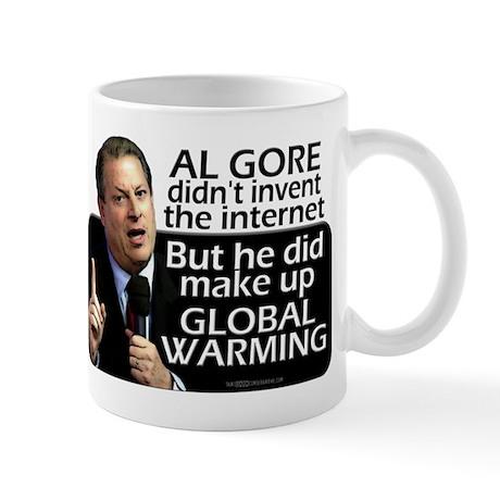 Gore Invented Global Warming Mug