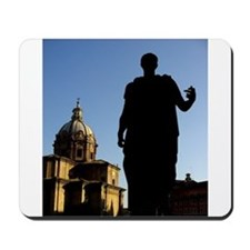 Caesar Flipping Off the Church Mousepad