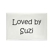 Cool Suzi Rectangle Magnet