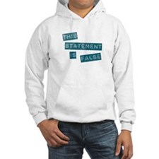 'This Statement Is False' Hoodie
