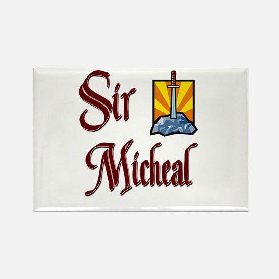 Sir Micheal Rectangle Magnet