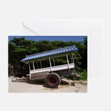 Blue Cart Greeting Cards (Pk of 10)