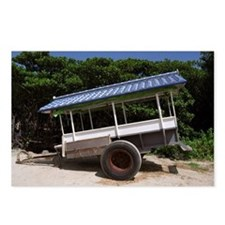 Blue Cart Postcards (Package of 8)
